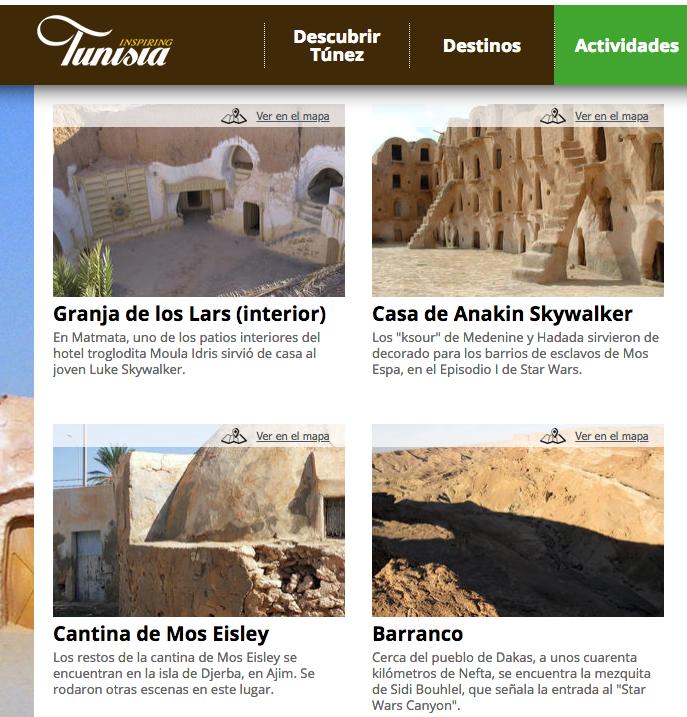 Turismo Star Wars en Túnez