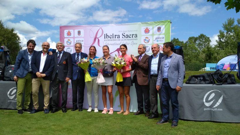 Ganadoras trofeo ProAm Ribeira Sacra