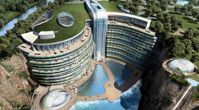 El Intercontinental Shanghai Wonderland Hotel