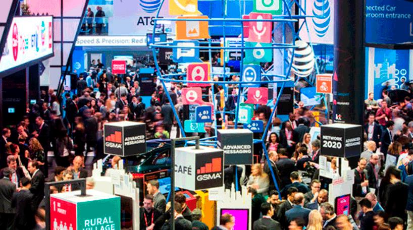 Imagen interior del Mobile World Congress