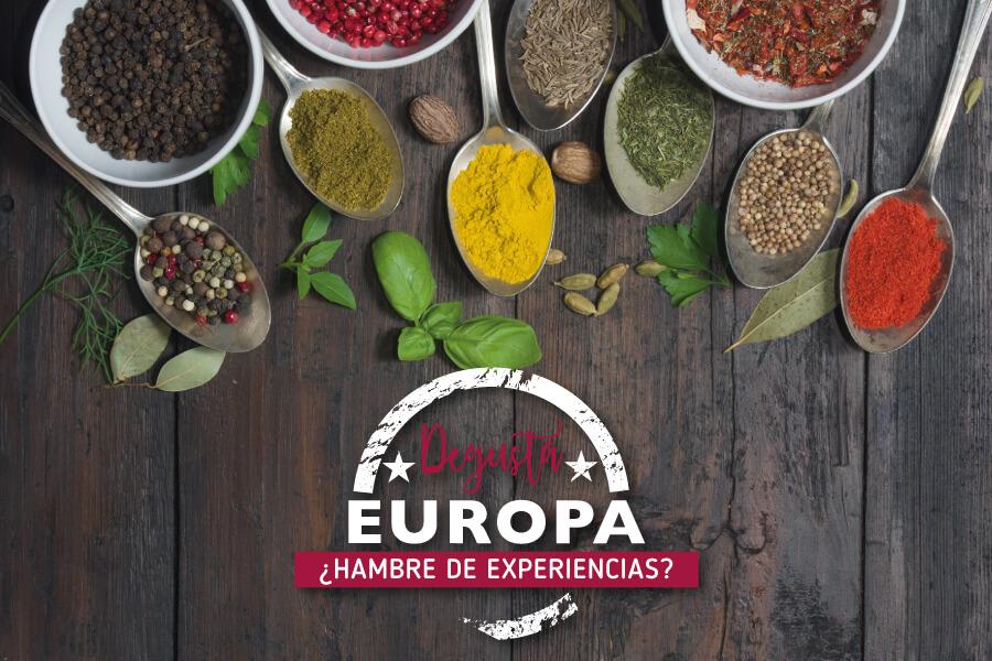 Degusta Euopa Diputación de Pontevedra