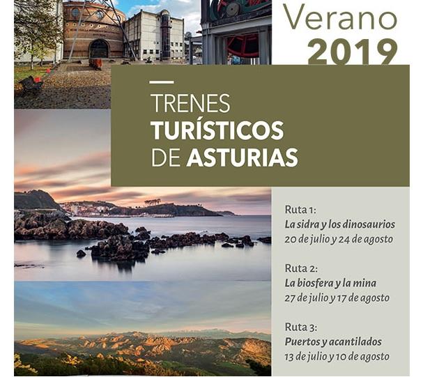 TRENES TURISTICOS ASTURIAS