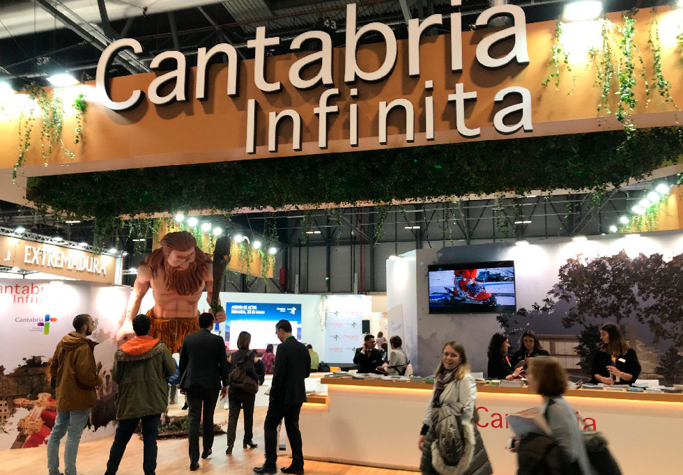 Stand Cantabria Fitur 2020
