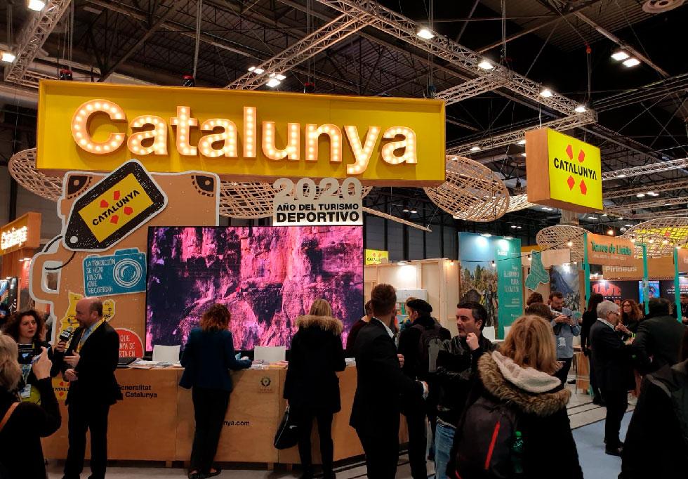Stand Cataluña Fitur 2020