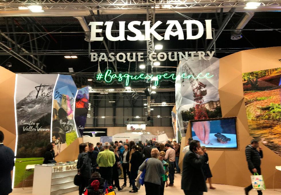 Stand Euskadi Fitur 2020