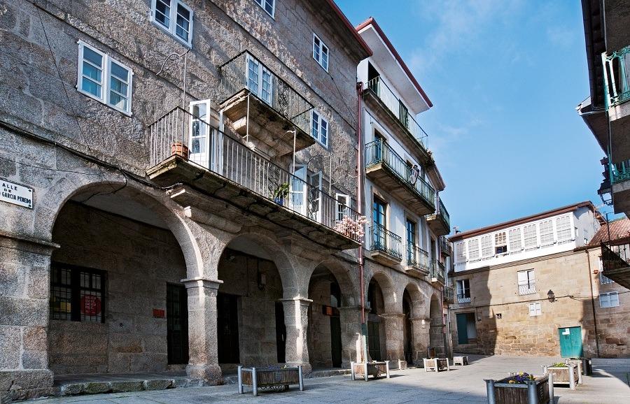 Centro histórico de Ribadavia