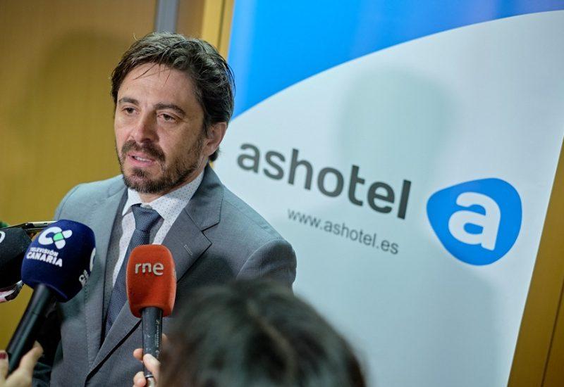 Jorge Marichal presidente Ashotel
