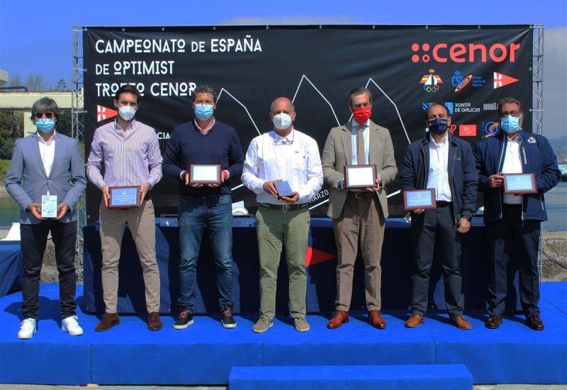 Presentación oficial del Campeonato Gallego de Optimist - Foto Leticia Acero