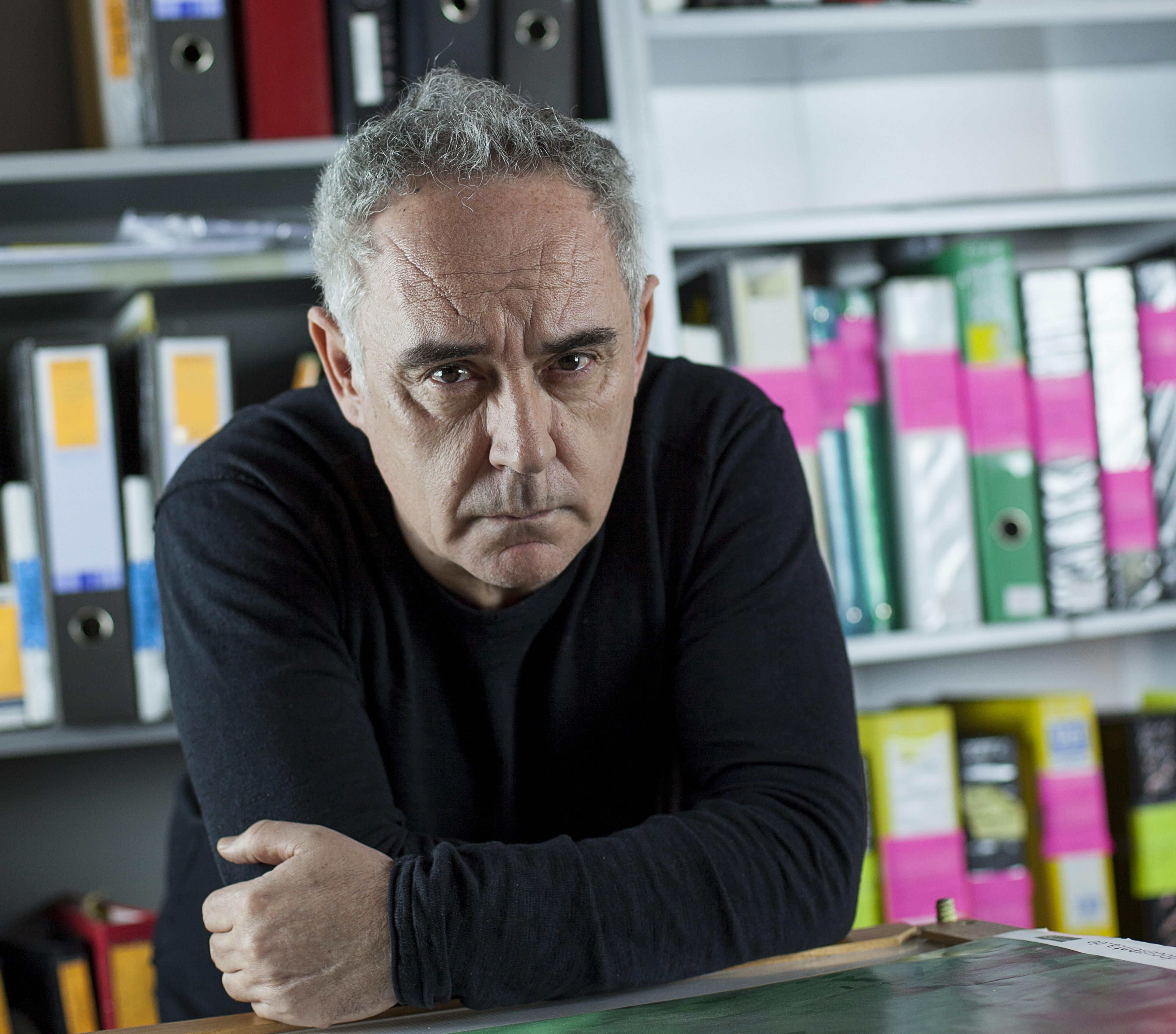 Retrato Ferran Adrià