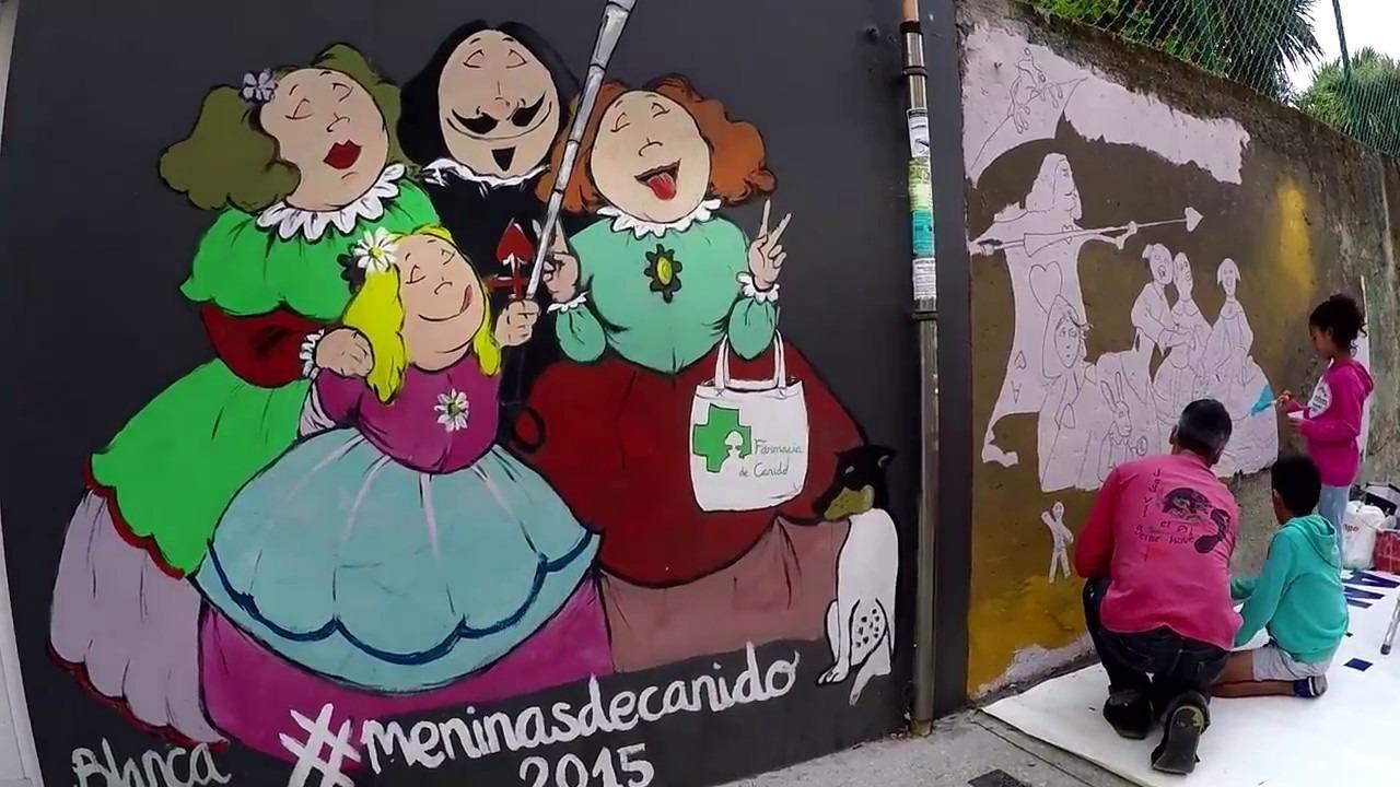 El barrio de Las Meninas