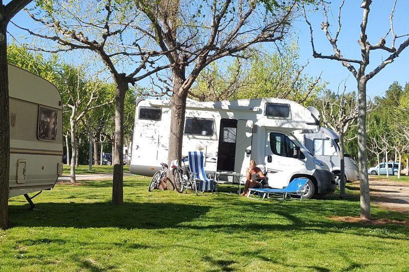reservas en los campings