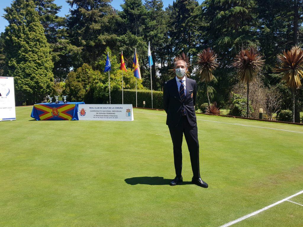 Mario Covelo presidente Federación Gallega de Golf